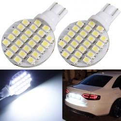 2 X T10 24SMD LED 194 921 W5W 1210 RV Landscaping Lampa Glödlampor