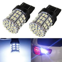2 x T20 7443 64 LED SMD 7440 3157 Lamp Bulb Backup Reverse 12V