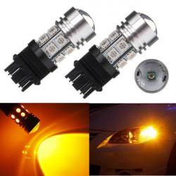 3156 3157 High Power 10W Q5 12 SMD 5050 Amber Stopp Rücklichtbirne