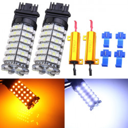 3157-3528 SMD LED Dual Color Switchblinkers Bulb