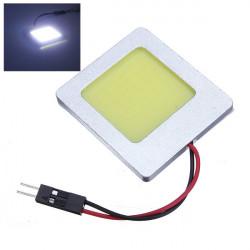 3.5W 48 Chips High Power Bil Behandlingen Ljus Dome Lampa för Cob