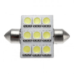 36MM 9SMD 5050 Automotive LED Light Festoon Dome Wedge Light Car Lamp