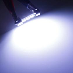 36mm 3SMD 5050 LED Car Auto Dome Festoon Interior Light Bulb White