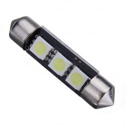 39mm 3smd Bil Behandlingen Ljus Kupol Lampa Decode med Opolära