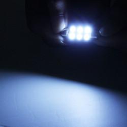 39mm 6SMD 5050 Autoleseleuchte Deckenleuchte Birne decodieren mit unpolaren