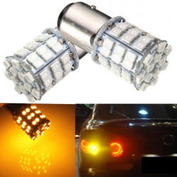 3W 1157 3528 54led Amber Gul SMD LED Head Blinkers