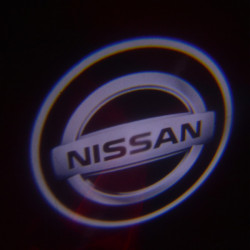 3W LED Projektor Ghost Shadow Lys Bil Velkommen Lights for Nissan