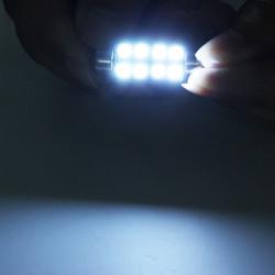 41mm 8SMD 5050 Autoleseleuchte Deckenleuchte Birne decodieren mit unpolaren