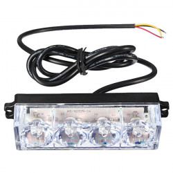 4 LED Car Truck Emergency Beacon Light Bar Hazard Strobe Warning