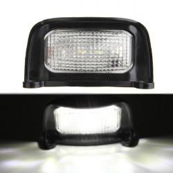 4 LED Van Truck Number License Plate Light Rear Tail 12/24V Waterproof