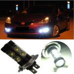 50W H7 Car Cree LED Driving Fog Light Daytime DRL Head Lamp Car Lights