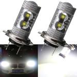 50W H7 LED Dimljus Driving DRL Strålkastare Lampa DRL Bilbelysning