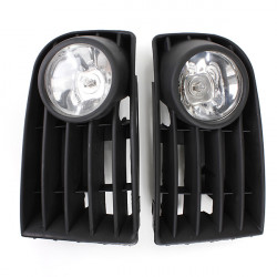 55W White H3 Fog Light Grill Kit For VW Golf Mk5 Rabbit 06-09