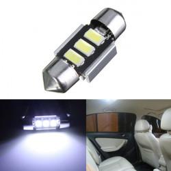 5630 Chip LED Hvid Kort / Dome Interiør Lys Bulb 31MM Festoon