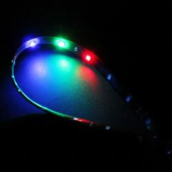 5W 30cm 15 SMD Car Decorative Scanning Light Strip 1210
