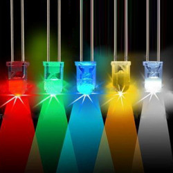 5mm LED Ultra Bright Lys Pæree 5 Farver