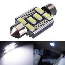 6 SMD 6418 C5W fehlerlose LED Birnen für Auto Kennzeichenbeleuchtung