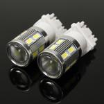 6000K Vit DRL Projektor Cree 5630 Chip SMD LED-lampor Bilbelysning