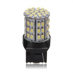 64LED 3020SMD Culot T20 7443 7440 3157 Auto Turn Light Bulb 12V 6W
