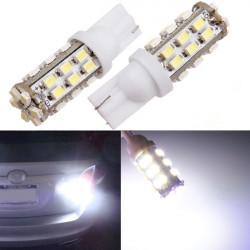 7000K Xenon T10 1206 30SMD Vit Backup Reverse Ljus Bulb