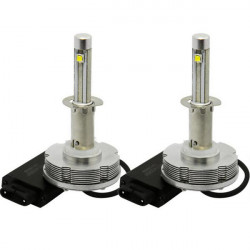 A pair H1 Cree LED Headlight 2400lm 40W High Power LED Headlight