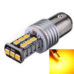 BAY15D 1157 2835 15W Blinker Endendstück Gelb LED Licht Autobeleuchtung