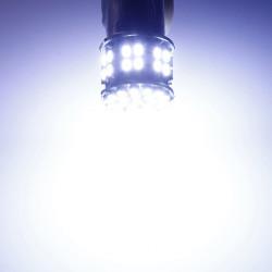 BAY15D 1157 Weiß Auto Heck Stop Bremsleuchte 50 SMD LED Birne 12V
