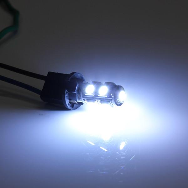CANBUS 501 9 SMD LED Sidelys Ulbs Hvid XENON T10 W5W 194 HID Bilbelysning