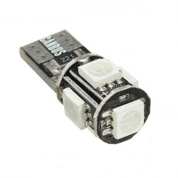 Canbus 5 SMD LED Xenon HID W5W T10 501 Car Side Light Bulb