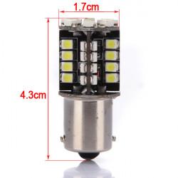 Bil 1156 BA15S Pure 44 SMD LED Bremselys Baglygte Pærer Interiør Pære