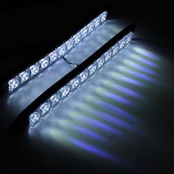 Car 12 LED Day Time Running Light Universal