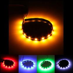 Bil 12LEDs 5050SMD LED Lysbånd Fleksibel Lampe Vandtæt 12V 30cm
