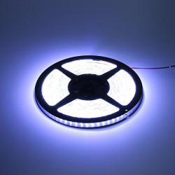 Car 5M 600 Led 3528 Waterproof Cool White Flexible Strip Light 12V
