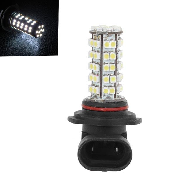 Bil 9006 3528 SMD 68LED Bulb Hoved Tågelygte Lys Lampe Hvid 5.5W 12V Bilbelysning