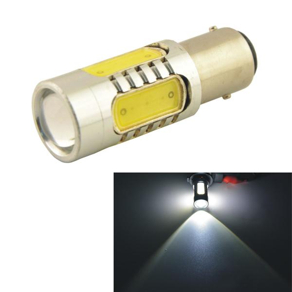Car Fordon 1157 11W 5SMD LED Lins Bakre Tail Signal Ljus Lampa Bilbelysning