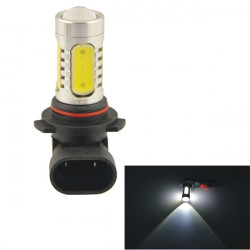 Car Auto 9005 11W 5SMD LED Lens Headlamp Foglight Bulb White