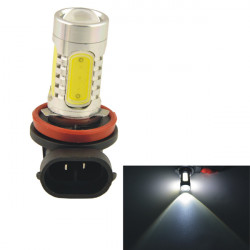 Car Fordon H8 11W 5SMD LED-optik Strålkastare Dimljus Bulb Vit 12V