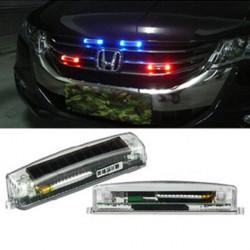 Car Dekorative Lights Solar Trådløs LED Burst Flashing Lights