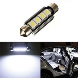 Bil Dome 5050 SMD LED Canbus Lampa Ljus Interiör Spollampor Ledde 42mm