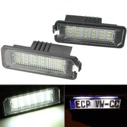 Car Error Free LED License Number Plate Light Lamp for VW