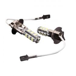 Car H3 3528 SMD 26 LED Head Light Headlight Bulb Lamp New