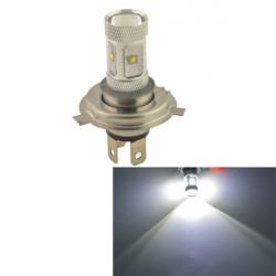 Bil H4 30W 6SMD LED Bil Strålkastare Dimljus Ljus Bulb-Vit 12V