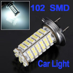 Car H7 3528 102 SMD LED Head Light Headlight Bulb Lamp Car Lights