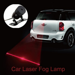 Car Laser Tail Fog Light Auto Brake Parking Lamp Warning Light