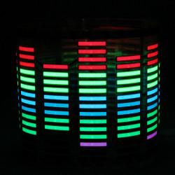 Auto Aufkleber Ton Musik aktivierte Sensor LED Light Equalizer Glow