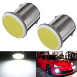 Bil Släpvagn Interiör 1156 BA15S COB LED Super Vit Lampor Ljus 1073