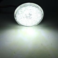 Car Truck Red LED Reflectors Round Brake Light Brake Lamp
