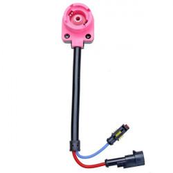D2S D4C / S / R Xenon Glödlampor D2 Adapters HID Sockets Fyra Kontakter