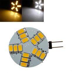 G4 15SMD 5630 LED heller Punkt Birnen Lampe 330LM 360LM reines / warmes Weiß