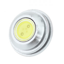 G4 2W LED-lampa Crystal Ljus Bulb Vitt och Varmvitt Ljus